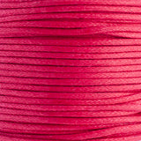 1mm Cotton Waxed Cord 18 Colours- (By the Yard)