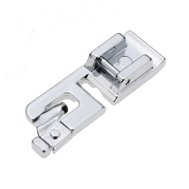 Domestic 3mm Roll of Lace Presser Foot (Round Rolled Hem)