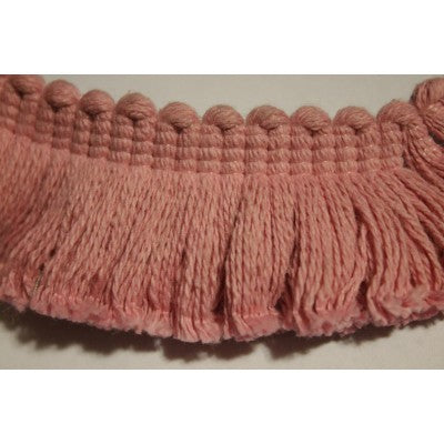 Baby Pink Cotton Fringe (By The Yard)