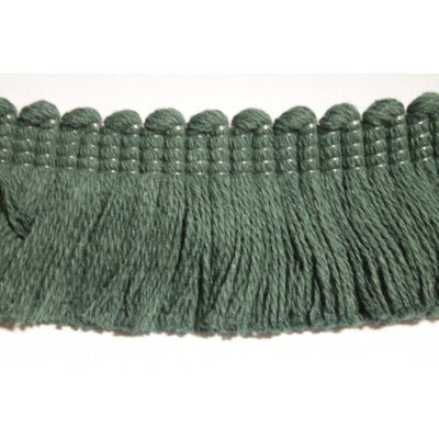 Forest Green Cotton Fringe (By The Yard)