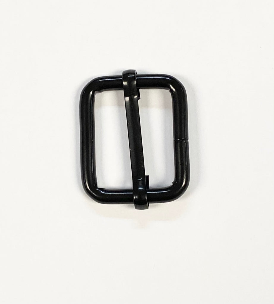 "1"" Black Sliding Bar Buckle"