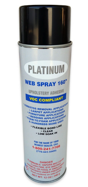 Platinum Web Spray 150 Super Stick Spray Adhesive