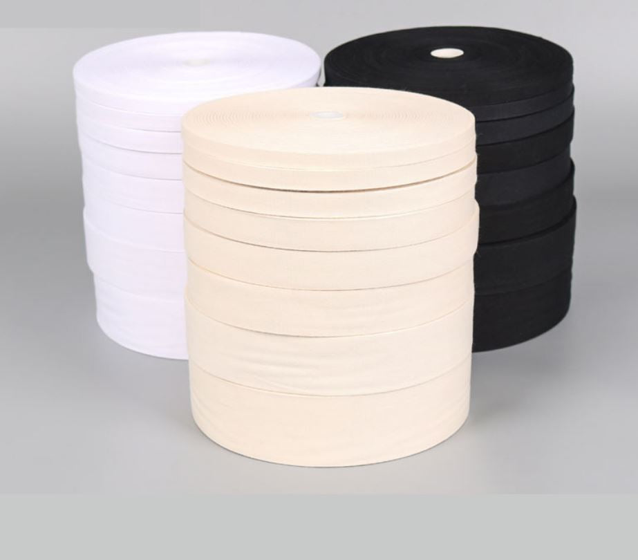 Cotton Twill Tape (by the roll)