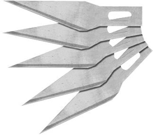EXCEL Precision Craft Knife Blade Replacements (5 pack)