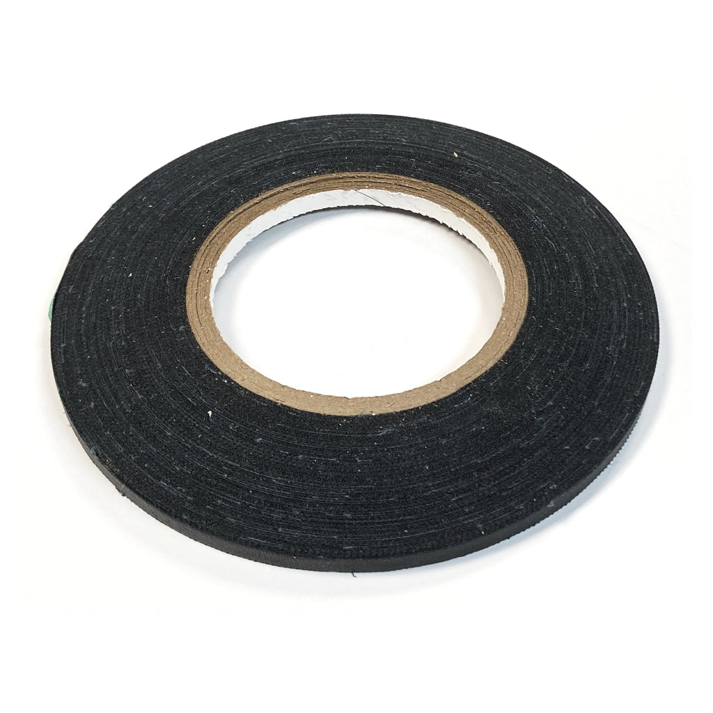 "1/4"" Draping Tape - Black / 50m"