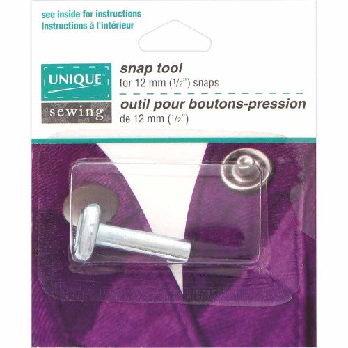 UNIQUE SEWING Halo/Ring Snap Setter