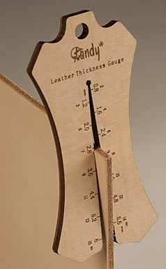 TANDY Leather Thickness Gauge