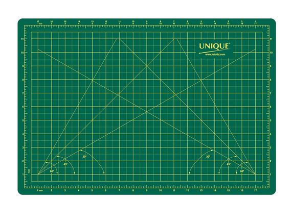 UNIQUE Double Sided Cutting Mat - 11″ x 17″ (28 x 43cm)