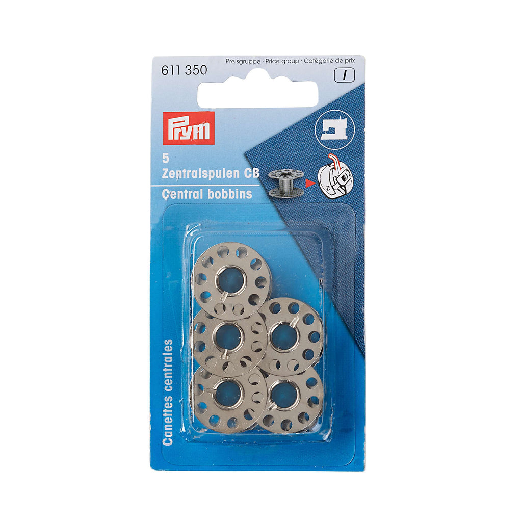 PRYM Domestic Sewing Machine Bobbins - Steel