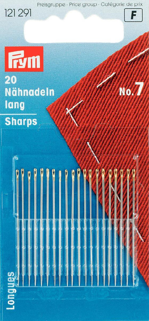 PRYM Hand Sewing Needles - Size 7 Sharp