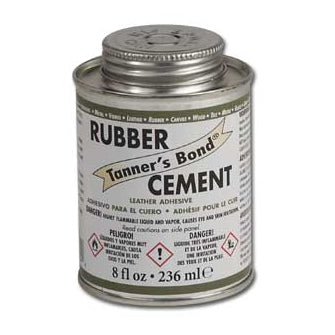 Tanner's Bond - Rubber Cement Leather Adhesive (236ml / 8 oz)