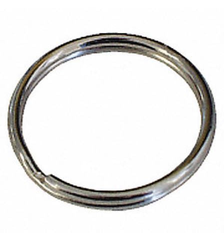 Nickel Key Split Ring