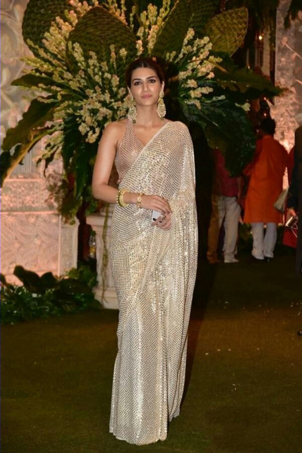 Imported Sequins Work Bollywood Saree For Women - Kriti