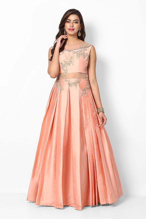 Marvelous Designer Party Wear Anarkali Gown For Women - OG04