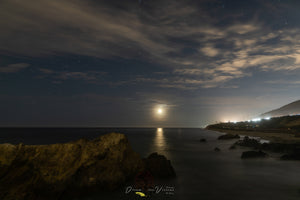 Moonset Over Leo Carillo