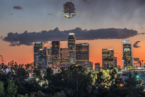 """Evening Falls Over Los Angeles"""