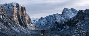 Yosemite Valley Winter Panorama
