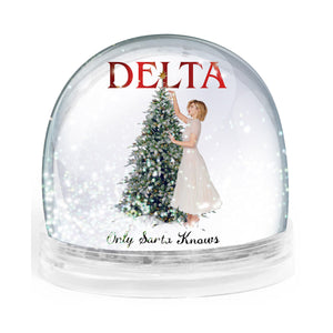 Only Santa Knows Snowglobe