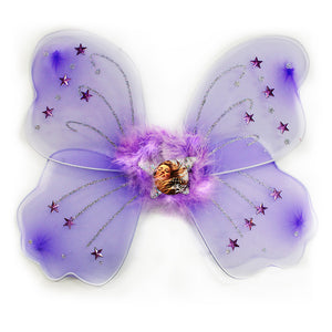 Lilac Fairy Wings