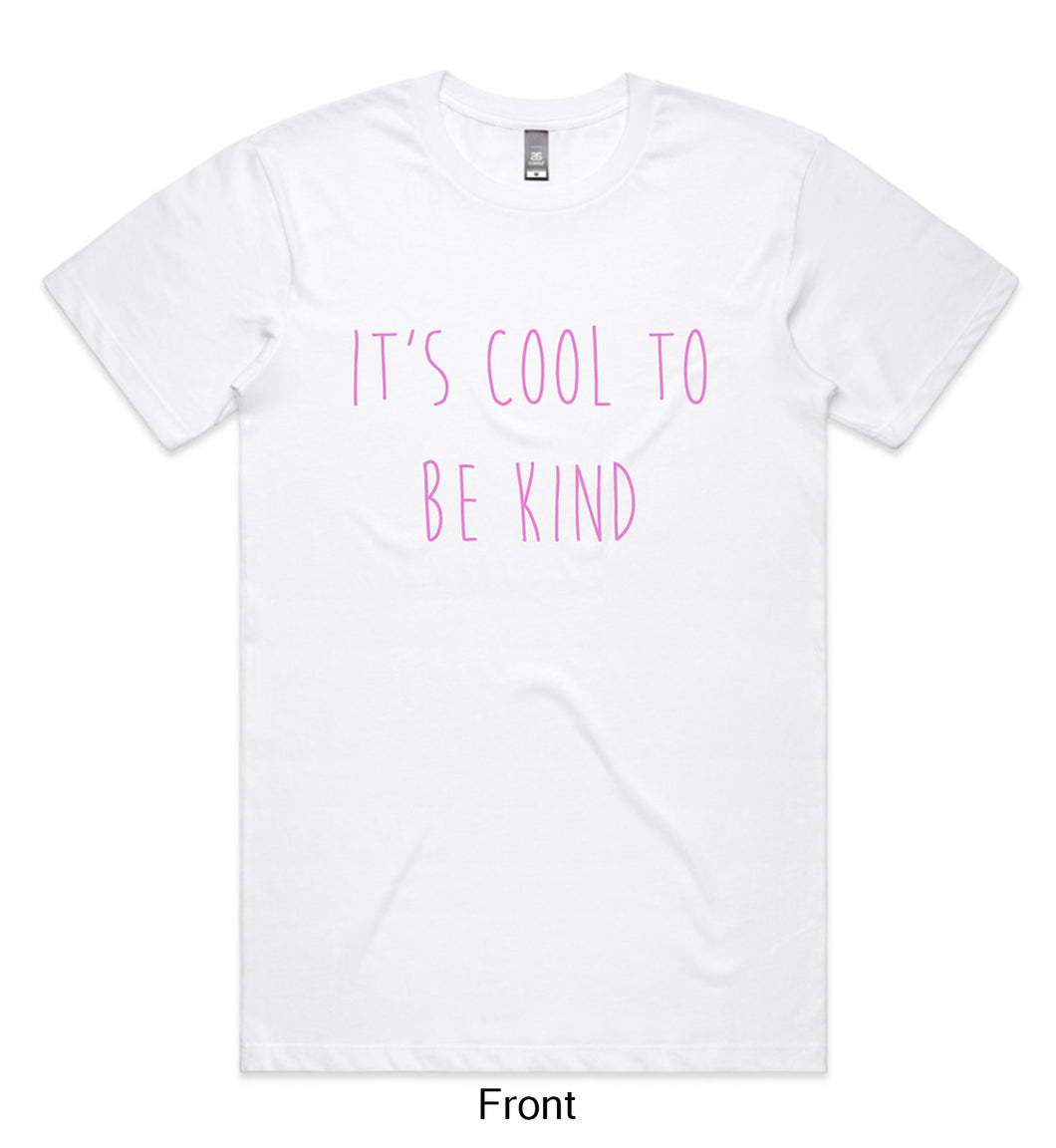 It's Cool To Be Kind Delta Goodrem Foundation White Tee