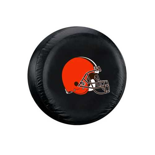 Cleveland Browns Tire Cover Standard Size Black Special Order