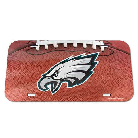 Philadelphia Eagles License Plate Crystal Mirror Football Design Special Order