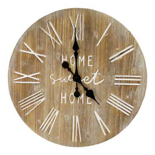 "23"" Distressed White & Dale Wood / Wall Clock"