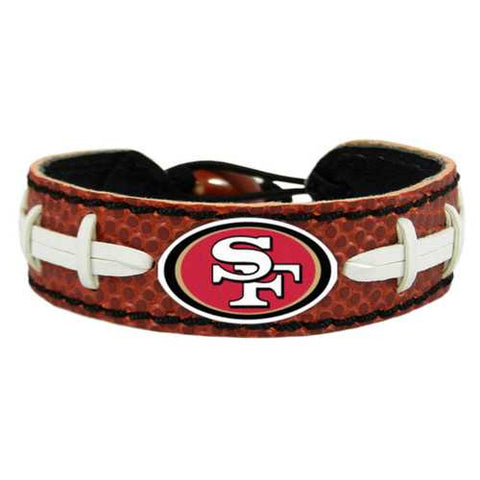 San Francisco 49ers Classic Football Bracelet
