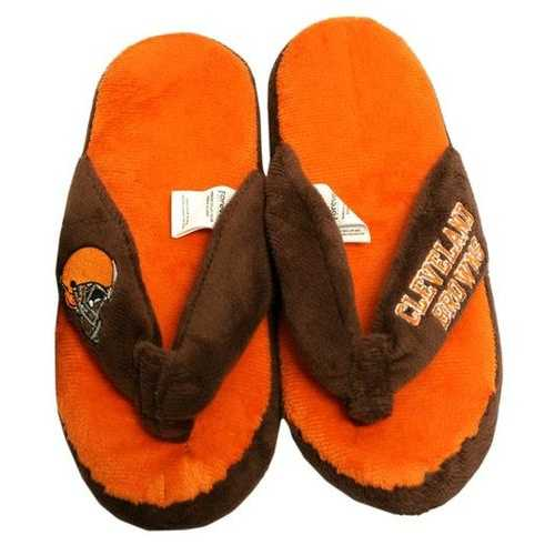 Cleveland Browns Slippers - Womens Thong Flip Flop (12 pc case)