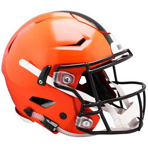 Cleveland Browns Helmet Riddell Authentic Full Size SpeedFlex Style