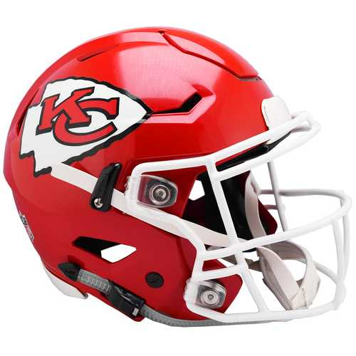 Kansas City Chiefs Helmet Riddell Authentic Full Size SpeedFlex Style