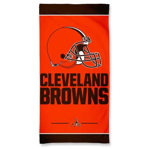 Cleveland Browns Towel 30x60 Beach Style Special Order
