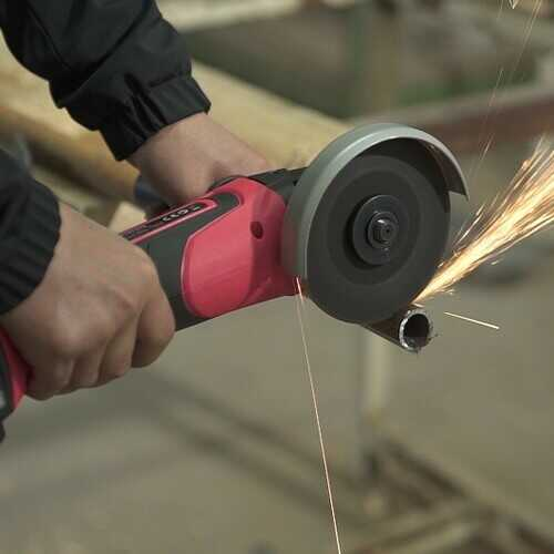 20V Cordless Angle Grinder w/ 4.0Ah Lithium-Ion Battery & Charger