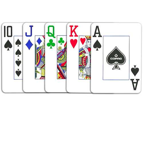 Copag 4-Color Poker Size Jumbo Index