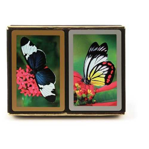 Butterflies, Jumbo Index 2-Deck Set