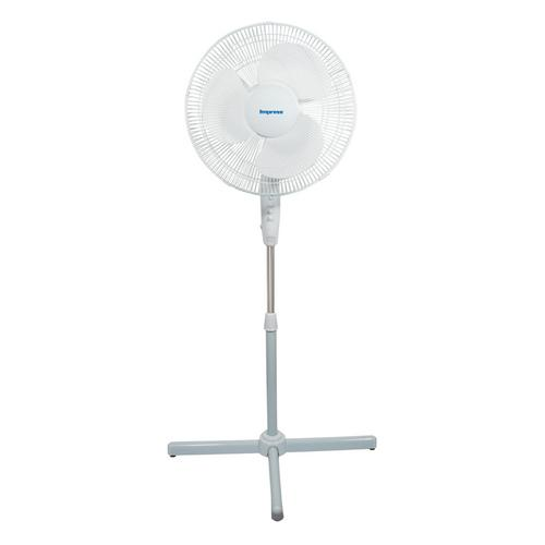 Impress Handi-Fan 16 Inch Oscillating Stand Fan- White