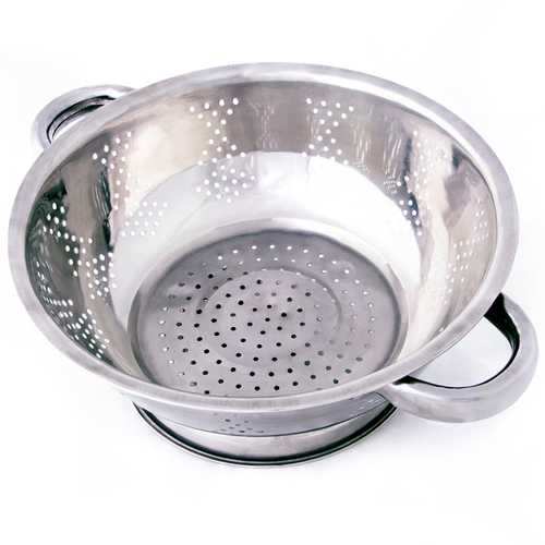 Stainless Steel Kitchen Colander- 2.5 Qt.