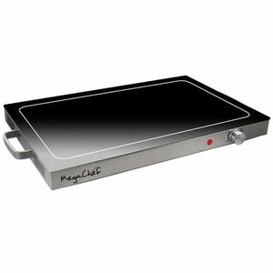 MegaChef Electric Warming Tray, Food Warmer, Hot Plate, With Adjustable Temperature Control, Perfect for Buffets, Banquets, House Parties