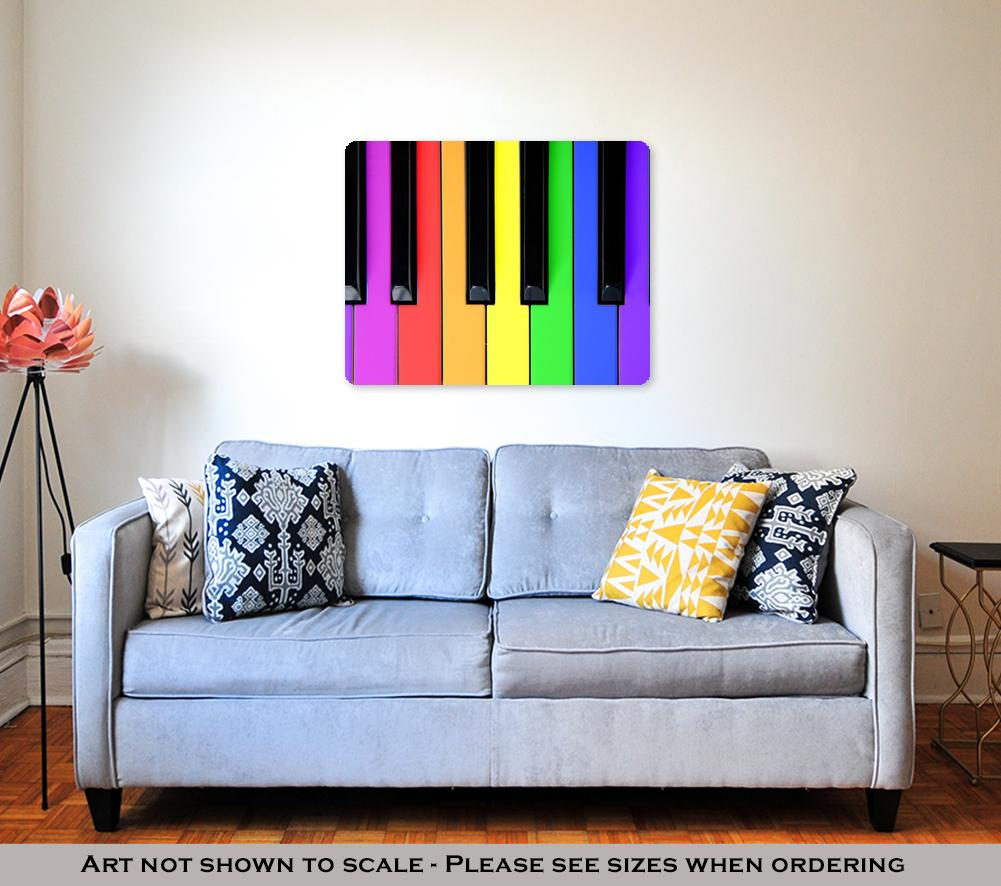 Metal Panel Print, Music For Kids