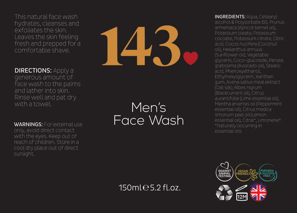 Men's Face Wash - Beauty