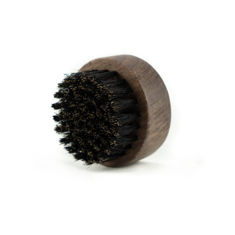 Black Walnut Round Beard Brush - practical product from our Brighton based online shop