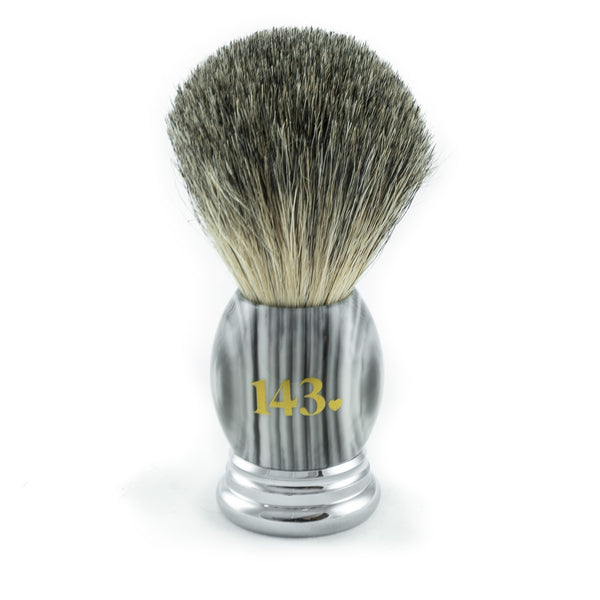 Beautifully made unique luxury shaving brush in vintage style