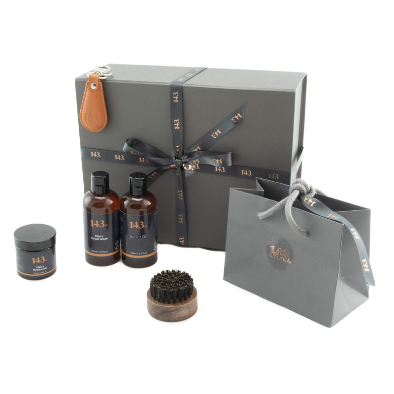 Man time gift set for those with a beard only from our Brighton based 143 online store!