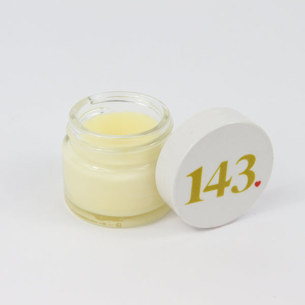 Conditioning Lip Balm - an open jar