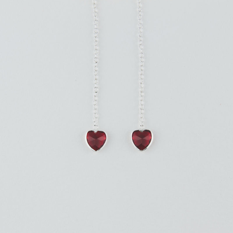 *Red Stone Pendant Earrings* - stunning Jewellery to make your loved one happy