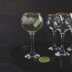 Ambassador Gold Gin Glass - Homeware collection