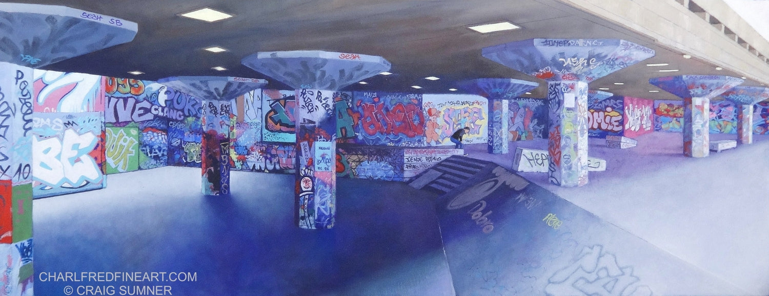 'Skateboarder - South Bank' by Craig Sumner