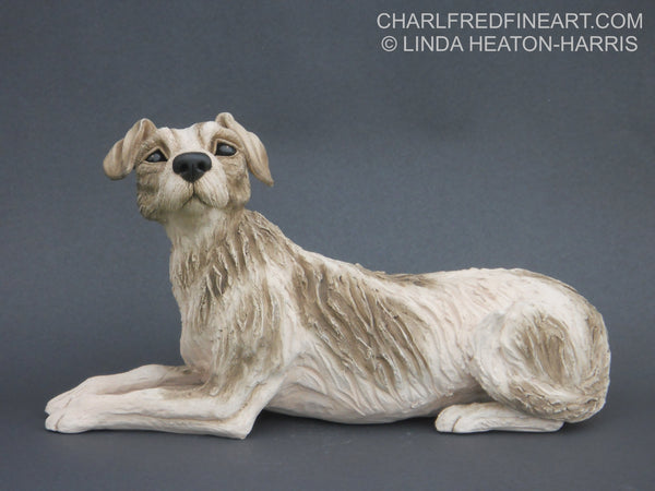 'Terrier' Dog- Ceramic Sculpture