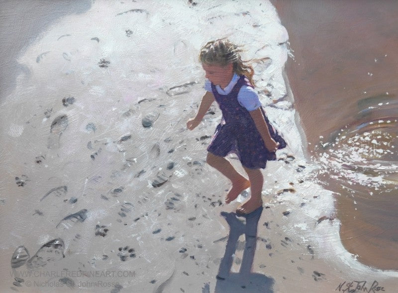 'Footprints' -  Figurative Art