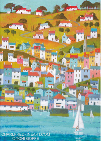 Cornish Port - Toni Goffe